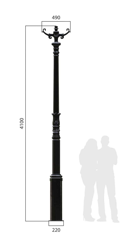 DE NOOD Mast GL410