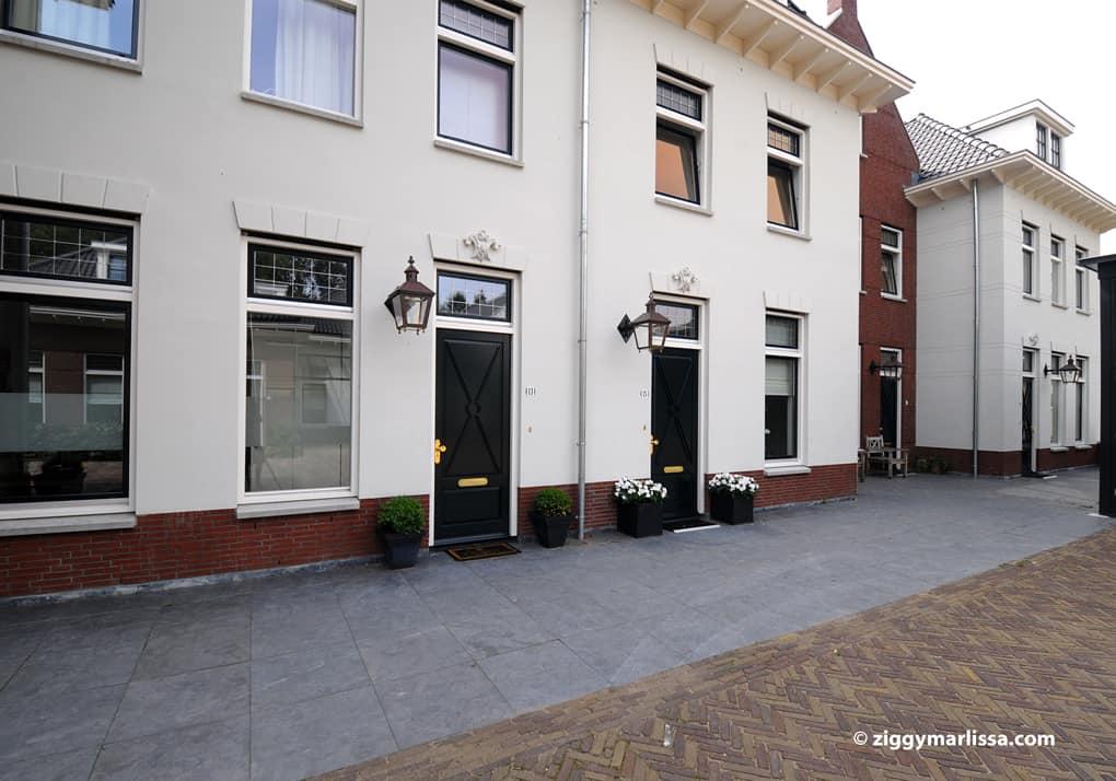 Buitenverlichting woningbouwplan Perahof Baarn