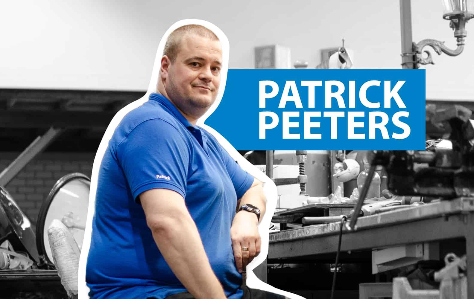15 vragen aan: Patrick Peeters